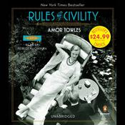 Rules of Civility: A Novel, by Amor Towles