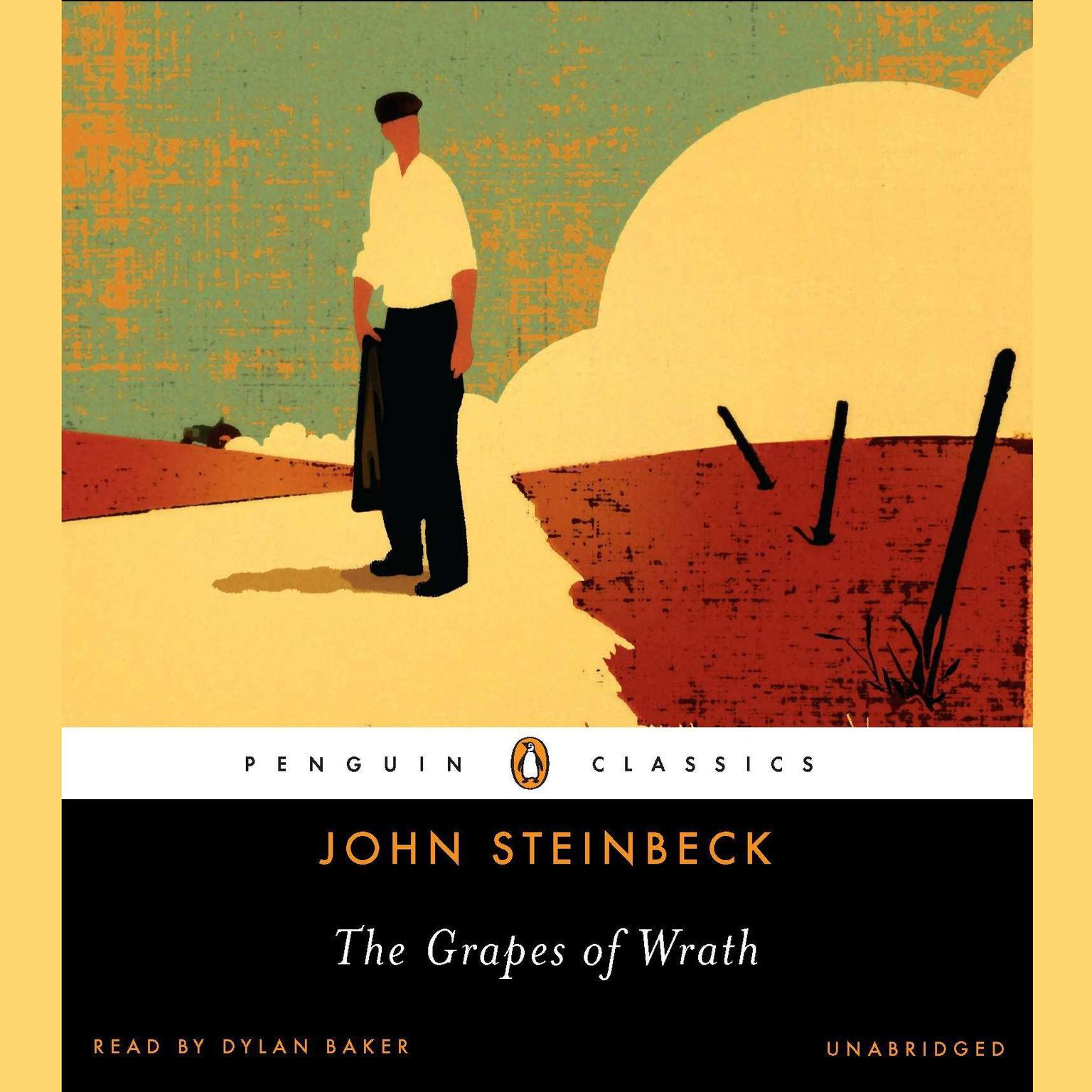 Printable The Grapes of Wrath Audiobook Cover Art
