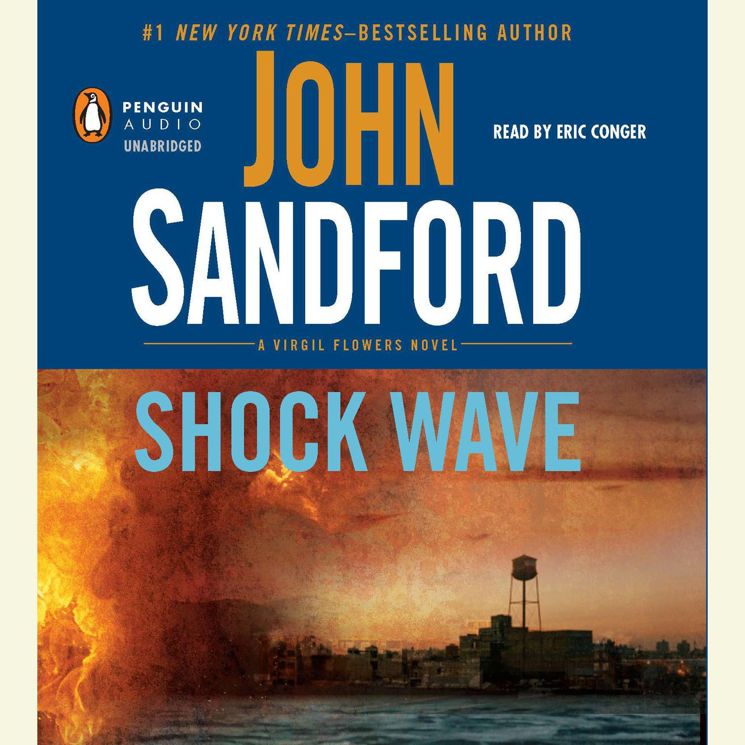 Printable Shock Wave Audiobook Cover Art