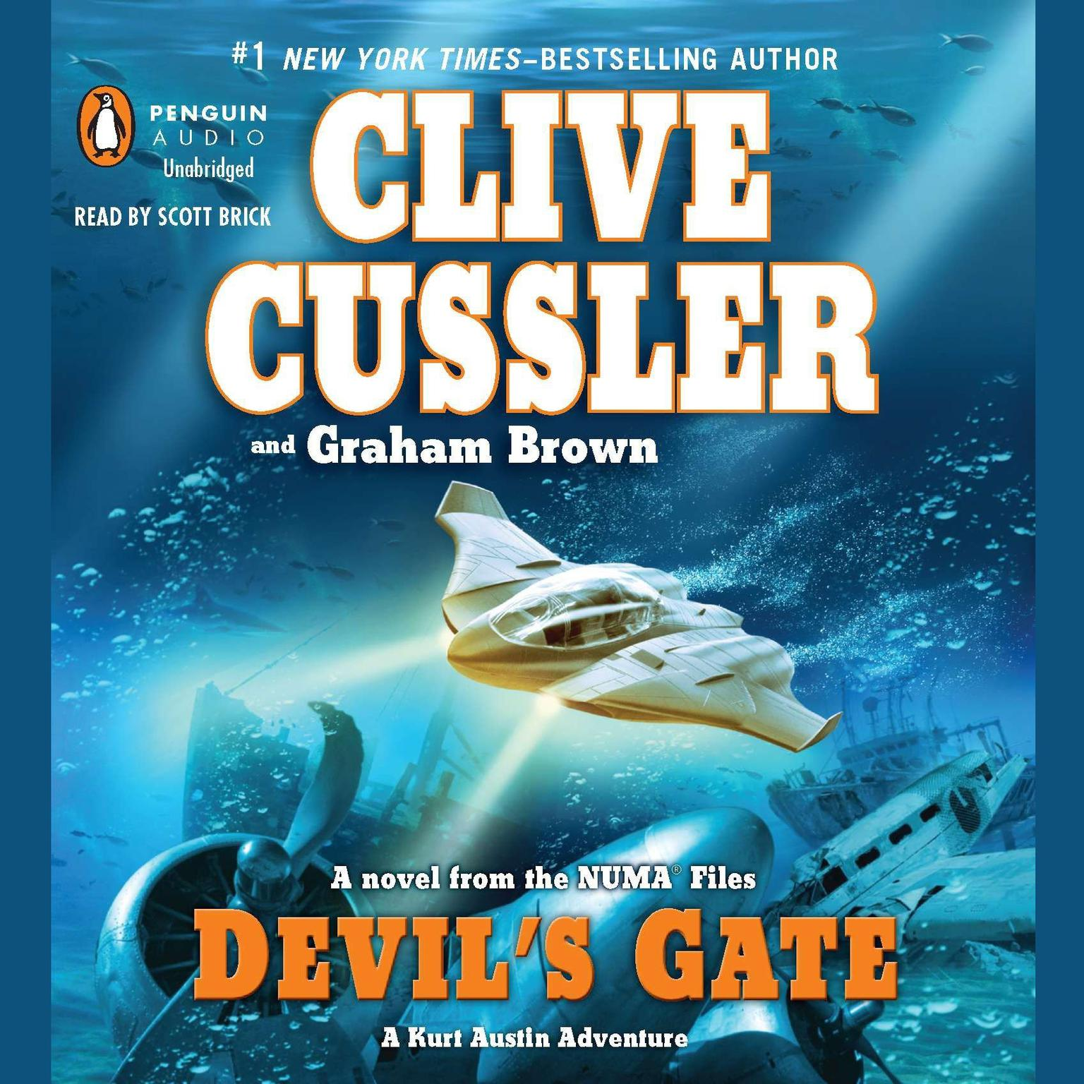 Printable Devil's Gate Audiobook Cover Art