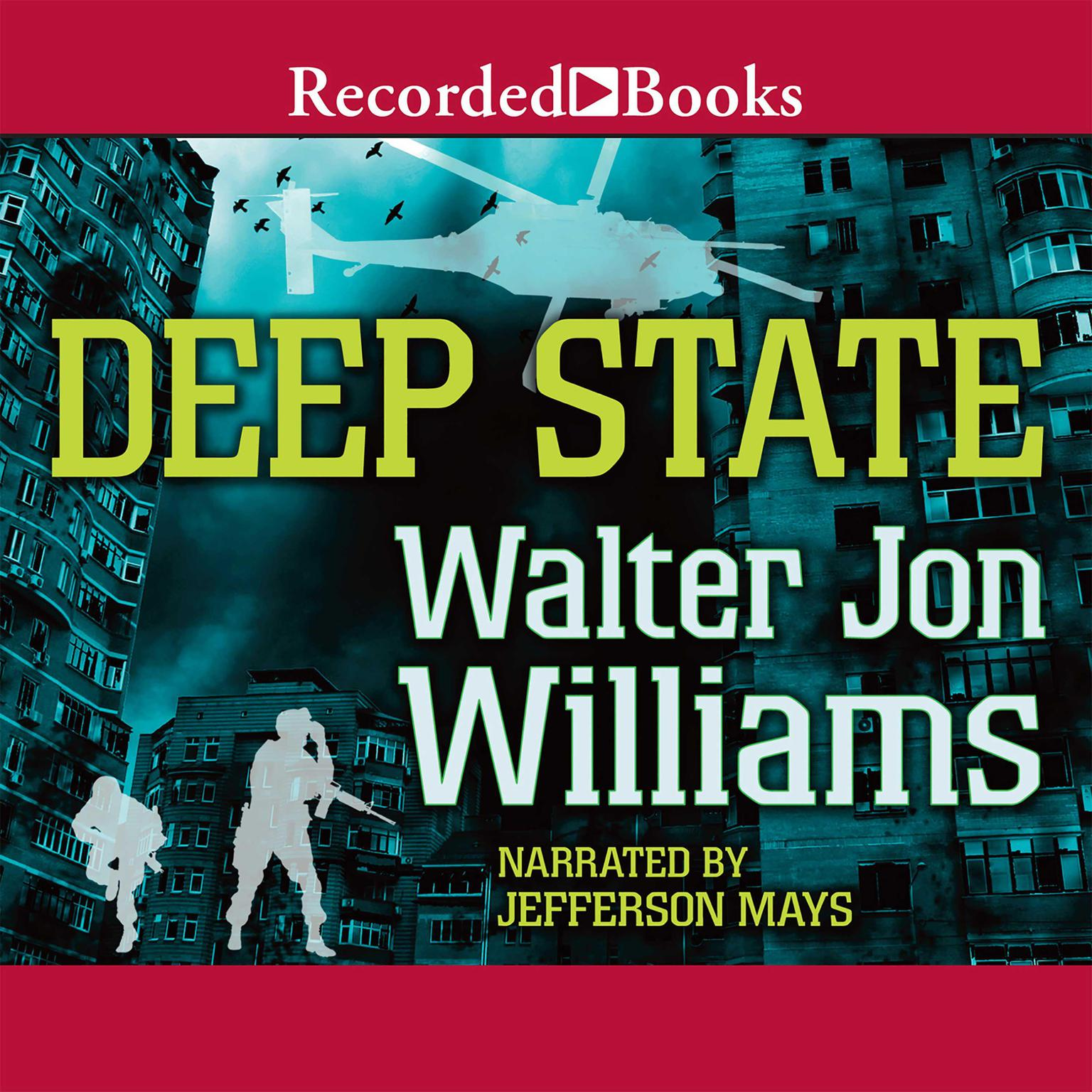Printable Deep State Audiobook Cover Art