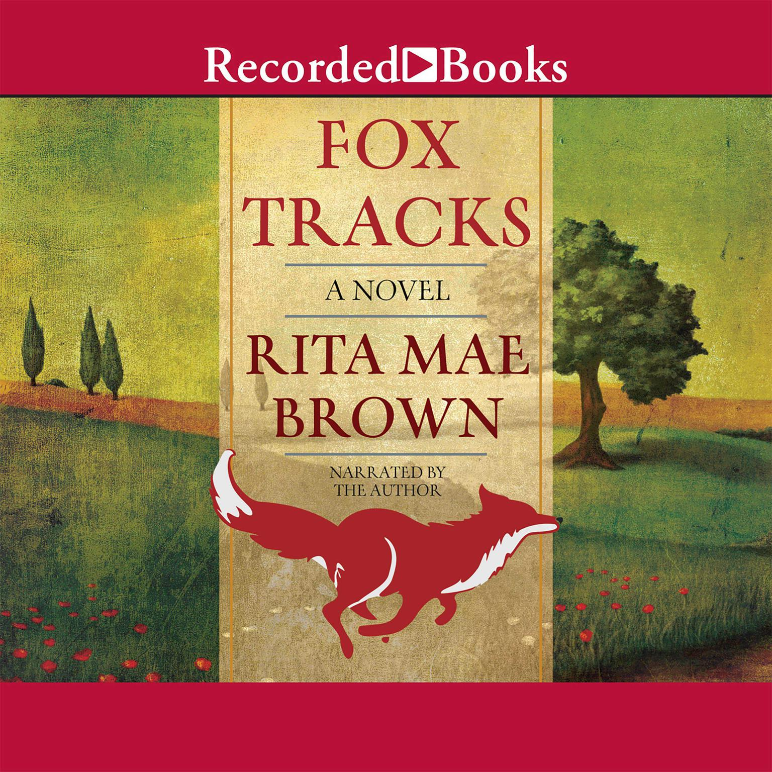 Printable Fox Tracks Audiobook Cover Art