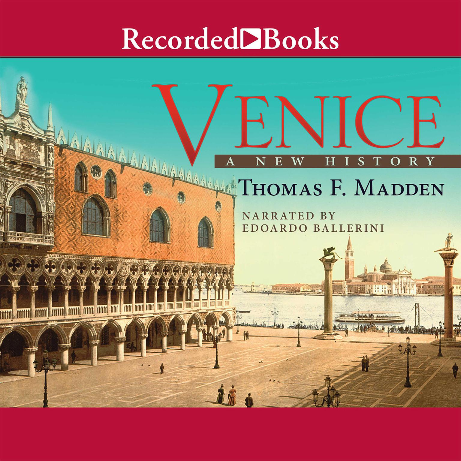 Printable Venice: A New History Audiobook Cover Art