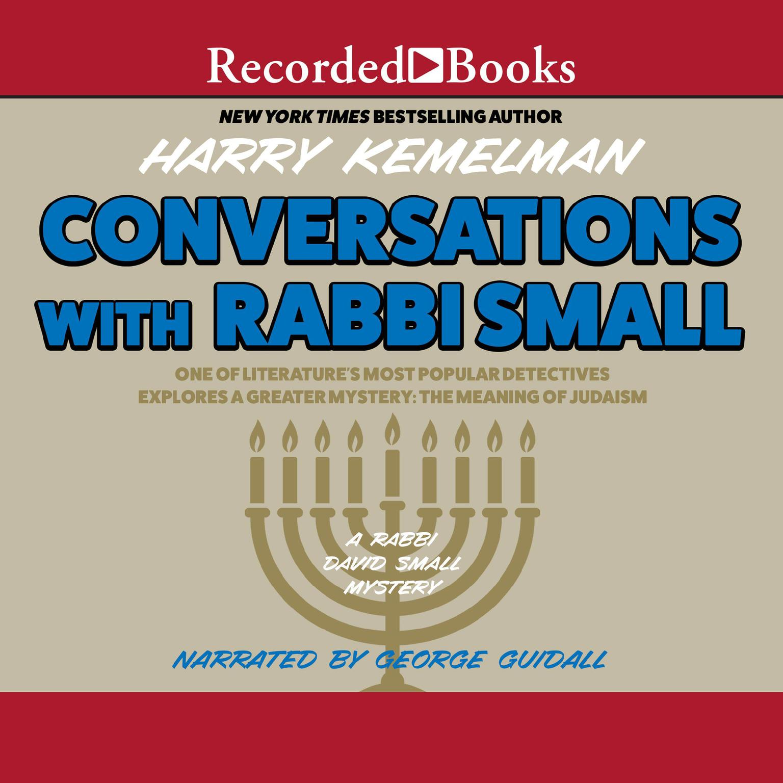 Printable Conversations with Rabbi Small Audiobook Cover Art