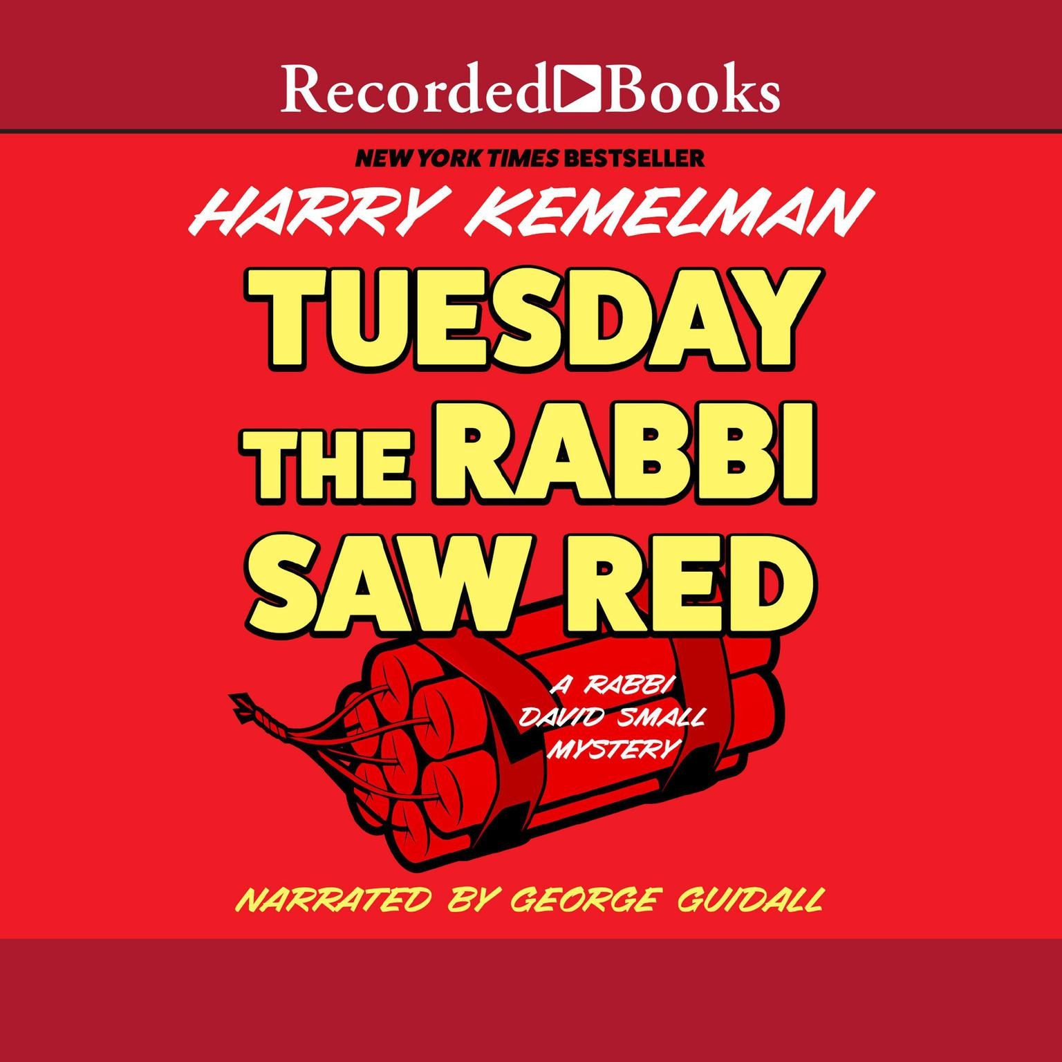 Printable Tuesday the Rabbi Saw Red Audiobook Cover Art