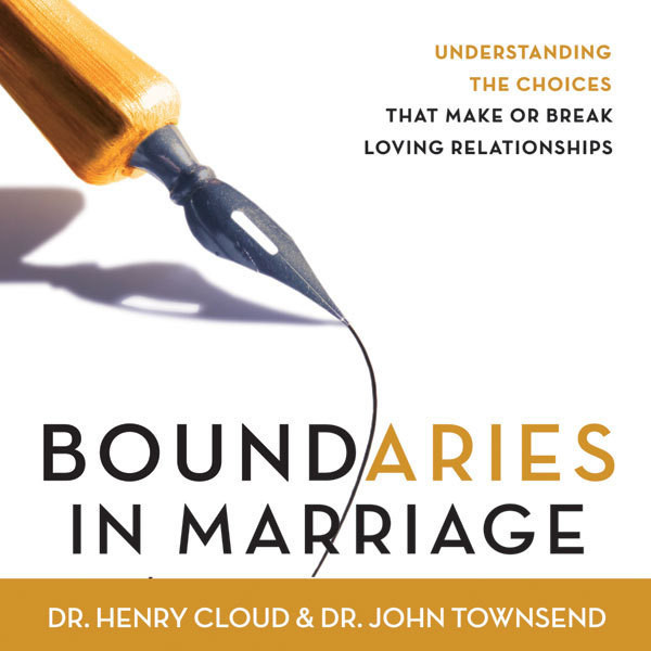 Printable Boundaries in Marriage Audiobook Cover Art