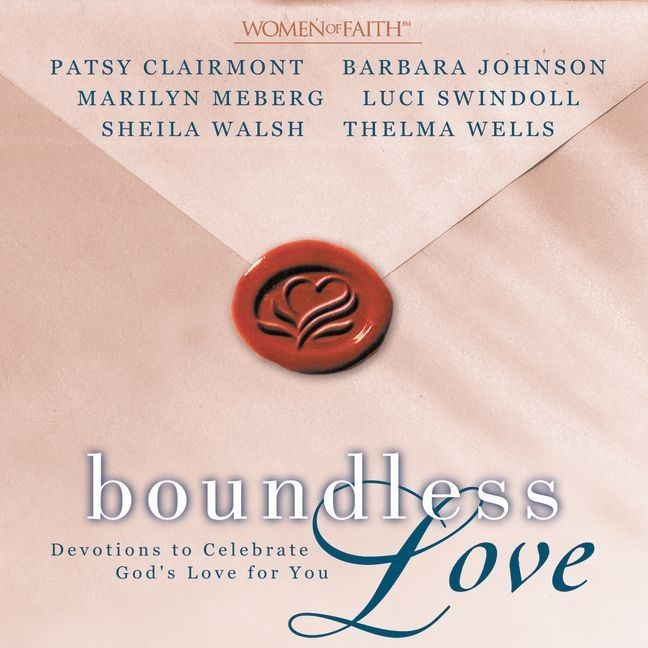 Printable Boundless Love: Devotions to Celebrate God's Love for You Audiobook Cover Art