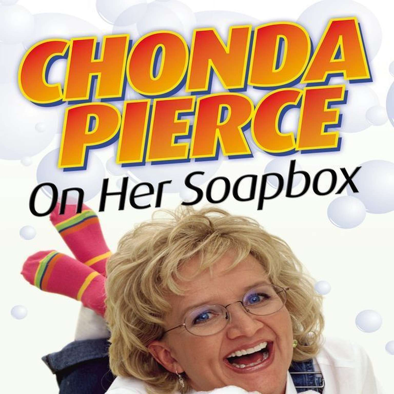 Printable Chonda Pierce on Her Soapbox Audiobook Cover Art