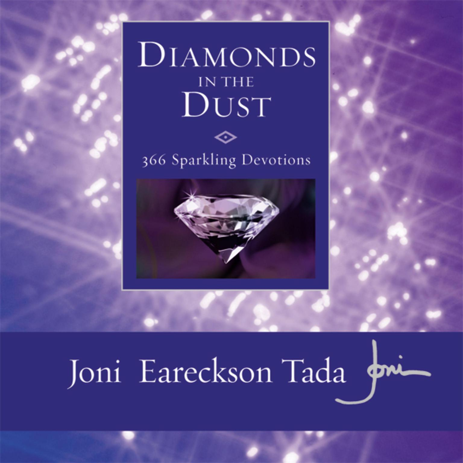Printable Diamonds in the Dust: 6 Sparkling Devotions Audiobook Cover Art