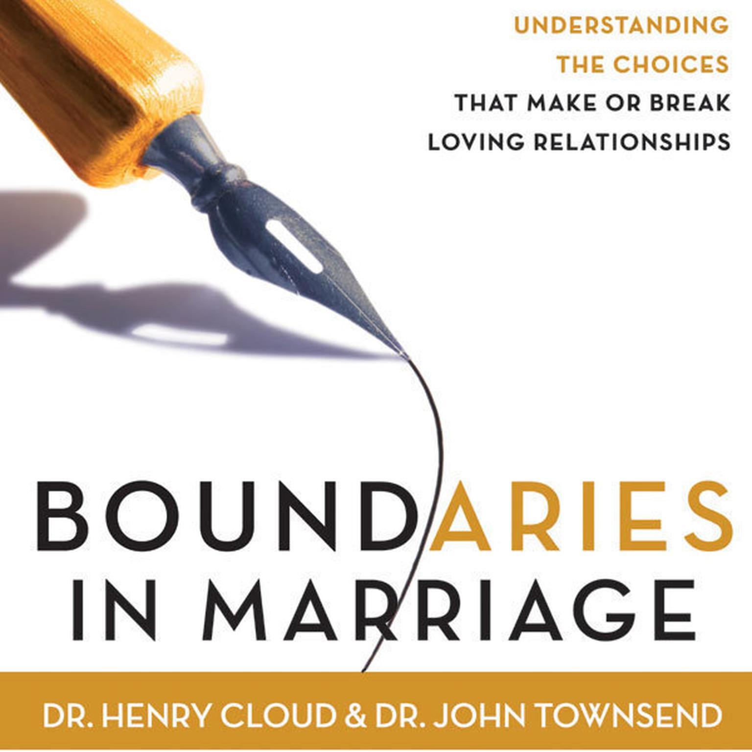 Boundaries in Marriage Audiobook, by Henry Cloud