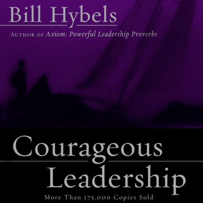 Printable Courageous Leadership Audiobook Cover Art