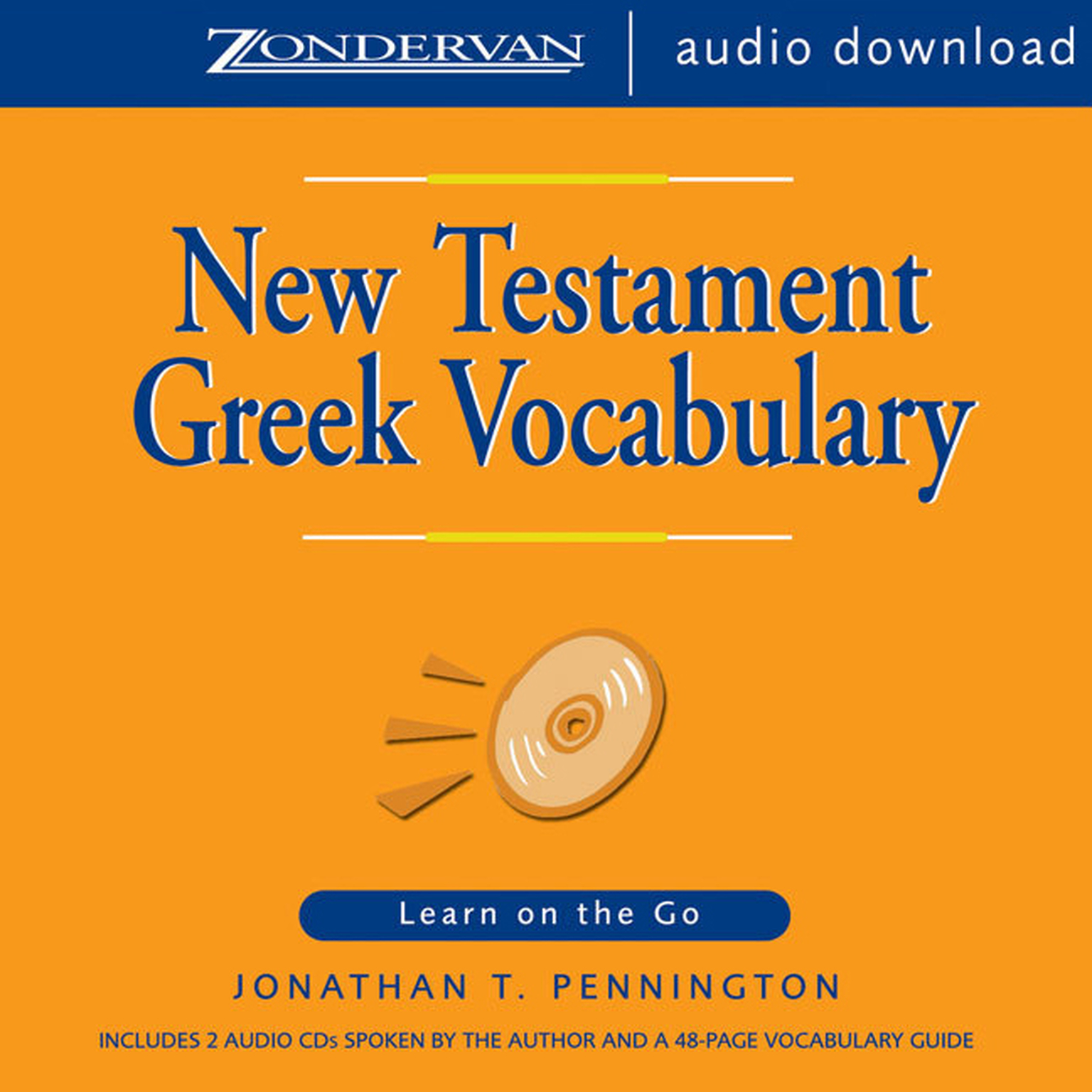Printable New Testament Greek Vocabulary: Learn on the Go Audiobook Cover Art