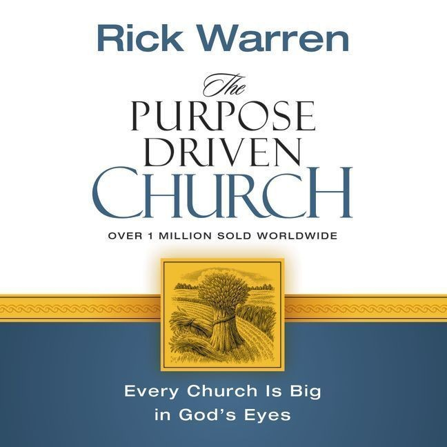 Printable The Purpose Driven Church: Growth Without Compromising Your Message and Mission Audiobook Cover Art