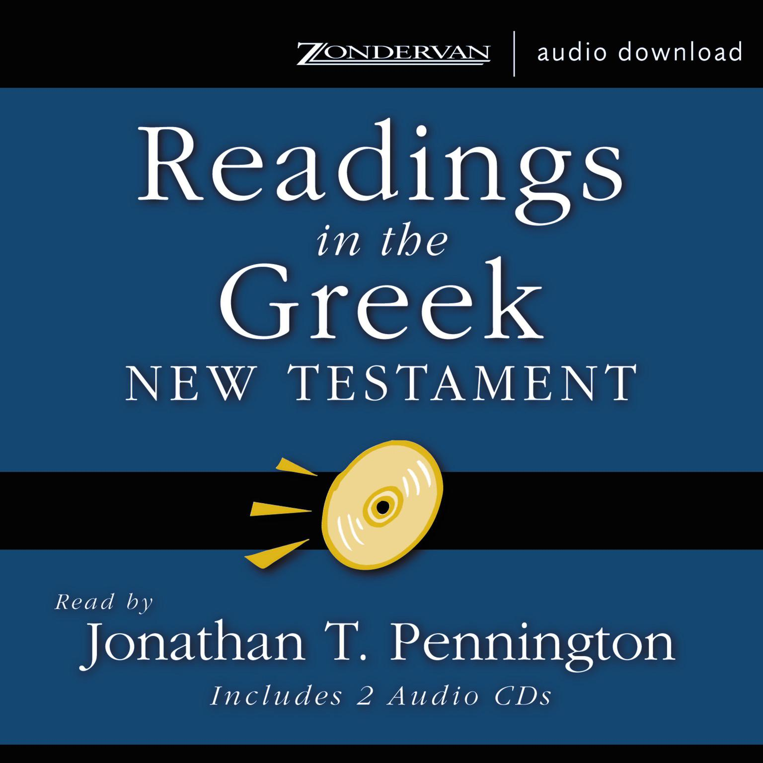 Printable Readings in the Greek New Testament Audiobook Cover Art