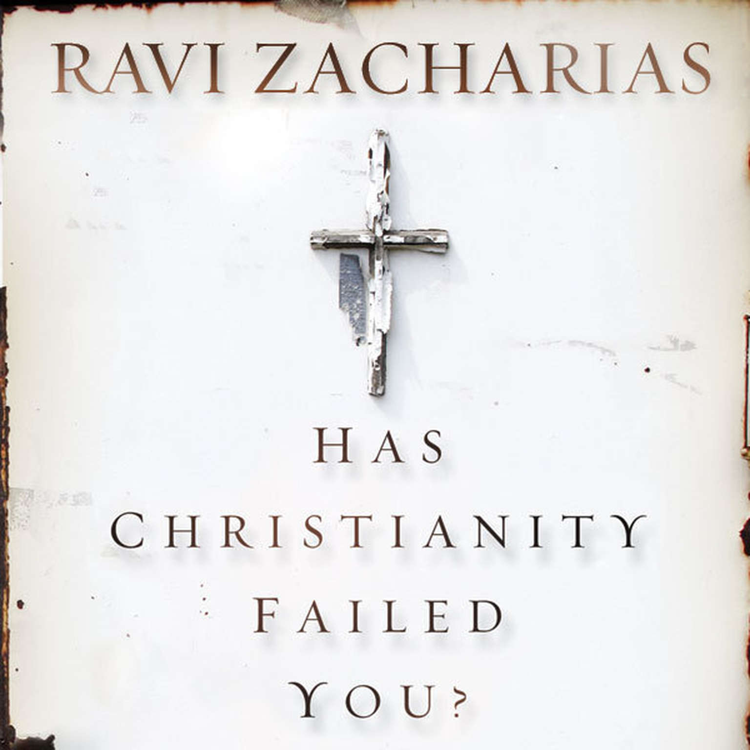 Printable Has Christianity Failed You? Audiobook Cover Art