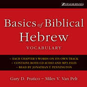 Basics of Biblical Hebrew Vocabulary Audiobook, by Gary D. Pratico