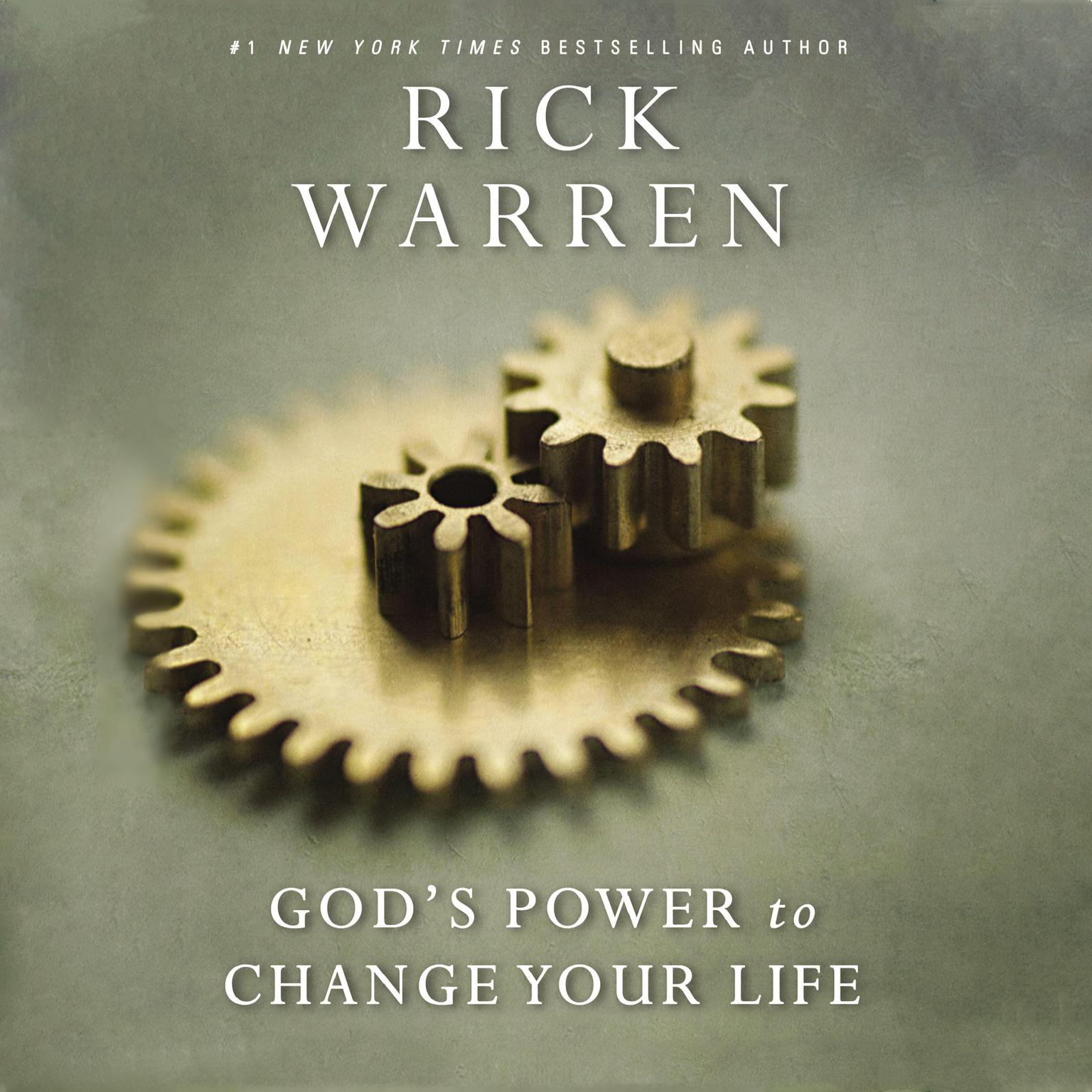 Printable God's Power to Change Your Life Audiobook Cover Art