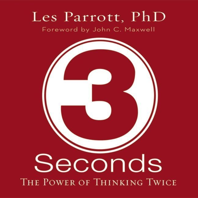 Printable 3 Seconds: The Power of Thinking Twice Audiobook Cover Art