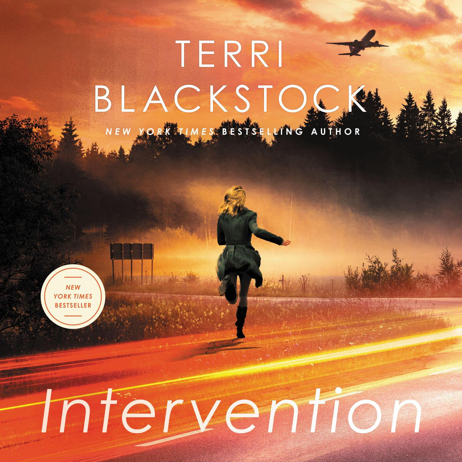 Printable Intervention: A Novel Audiobook Cover Art