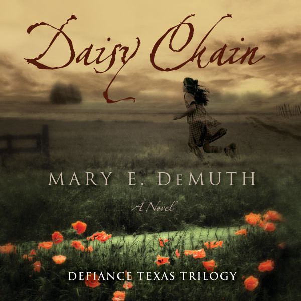 Printable Daisy Chain: A Novel Audiobook Cover Art