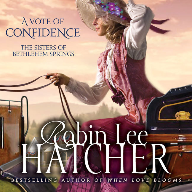Printable A Vote of Confidence Audiobook Cover Art