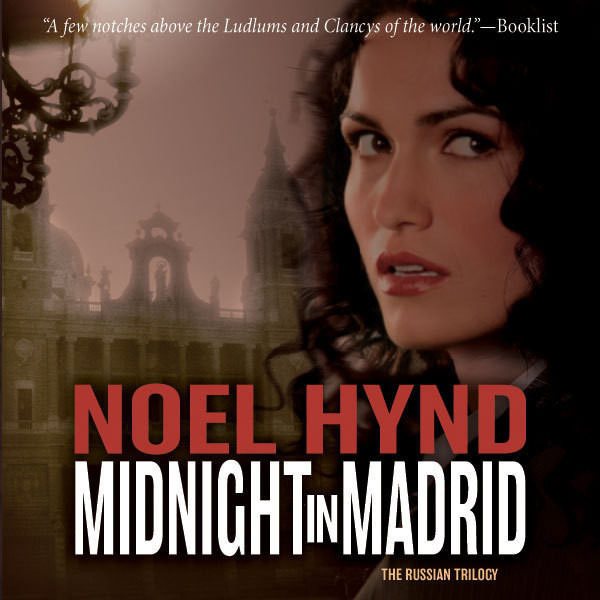 Printable Midnight in Madrid Audiobook Cover Art