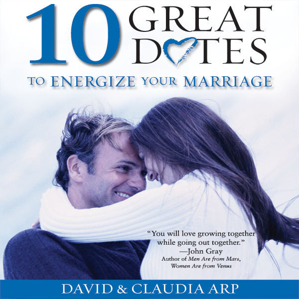 Printable 10 Great Dates to Energize Your Marriage: The Best Tips from the Marriage Alive Seminars Audiobook Cover Art