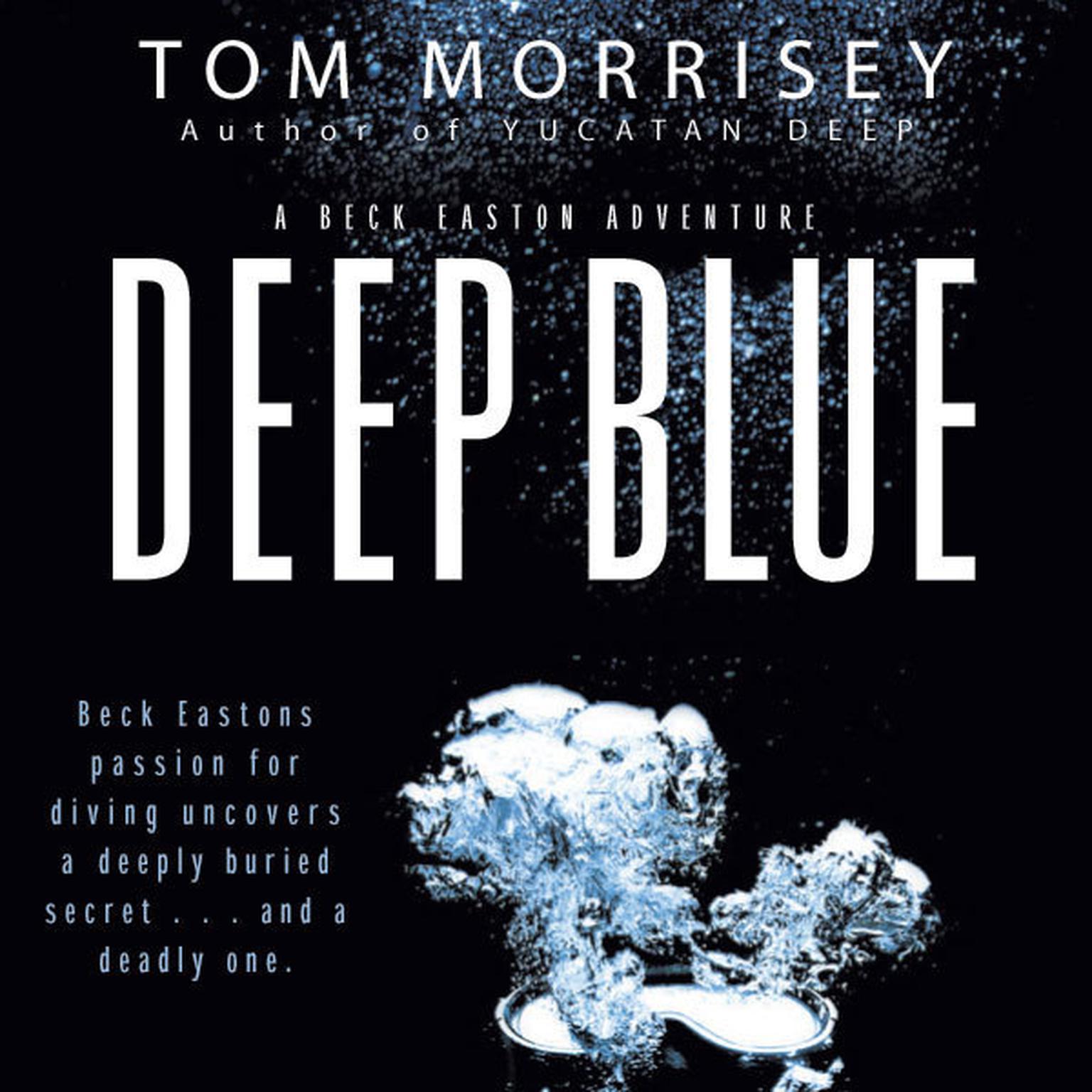 Printable Deep Blue Audiobook Cover Art