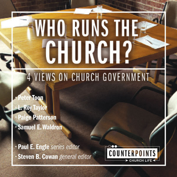 Printable Who Runs the Church?: 4 Views on Church Government Audiobook Cover Art