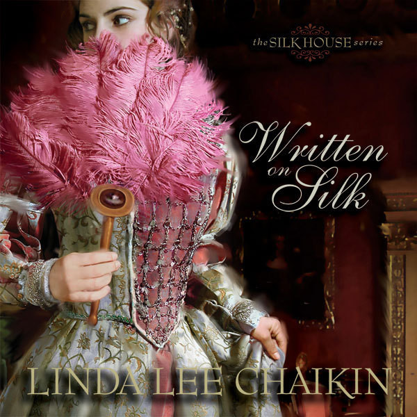 Printable Written on Silk Audiobook Cover Art