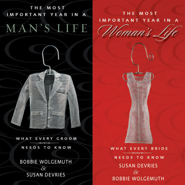Printable The Most Important Year in a Woman's Life/The Most Important Year in a Man's Life: What Every Bride Needs to Know / What Every Groom Needs to Know Audiobook Cover Art