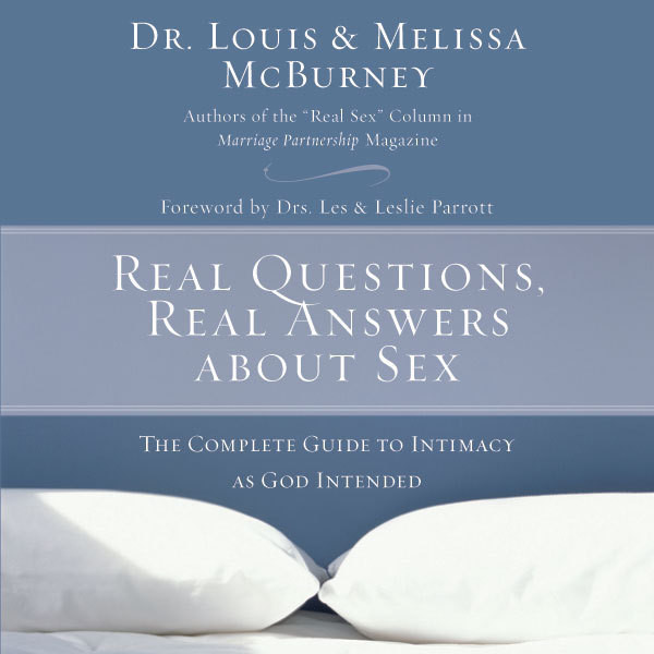 Printable Real Questions, Real Answers about Sex: The Complete Guide to Intimacy as God Intended Audiobook Cover Art
