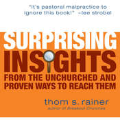 Surprising Insights from the Unchurched and Proven Ways to Reach Them, by Thom S. Raine