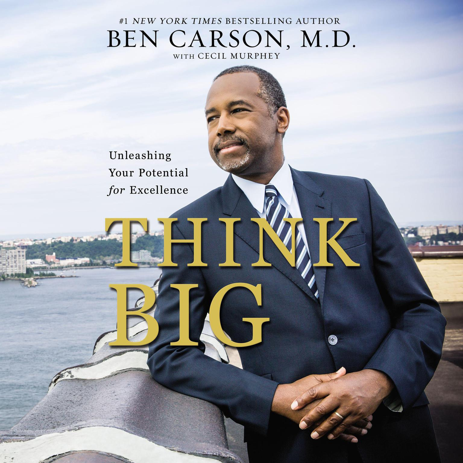 Printable Think Big: Unleashing Your Potential for Excellence Audiobook Cover Art