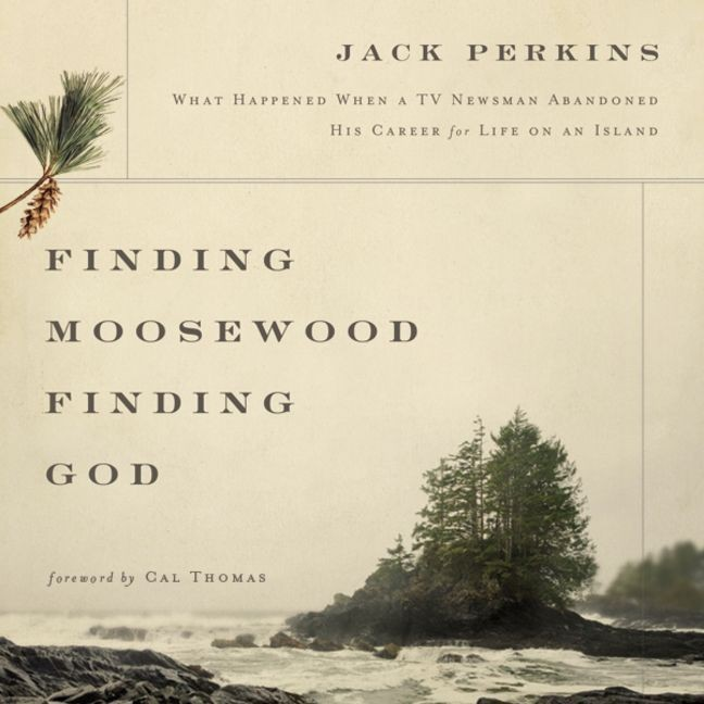 Printable Finding Moosewood, Finding God: What Happened When a TV Newsman Abandoned His Career for Life on an Island Audiobook Cover Art