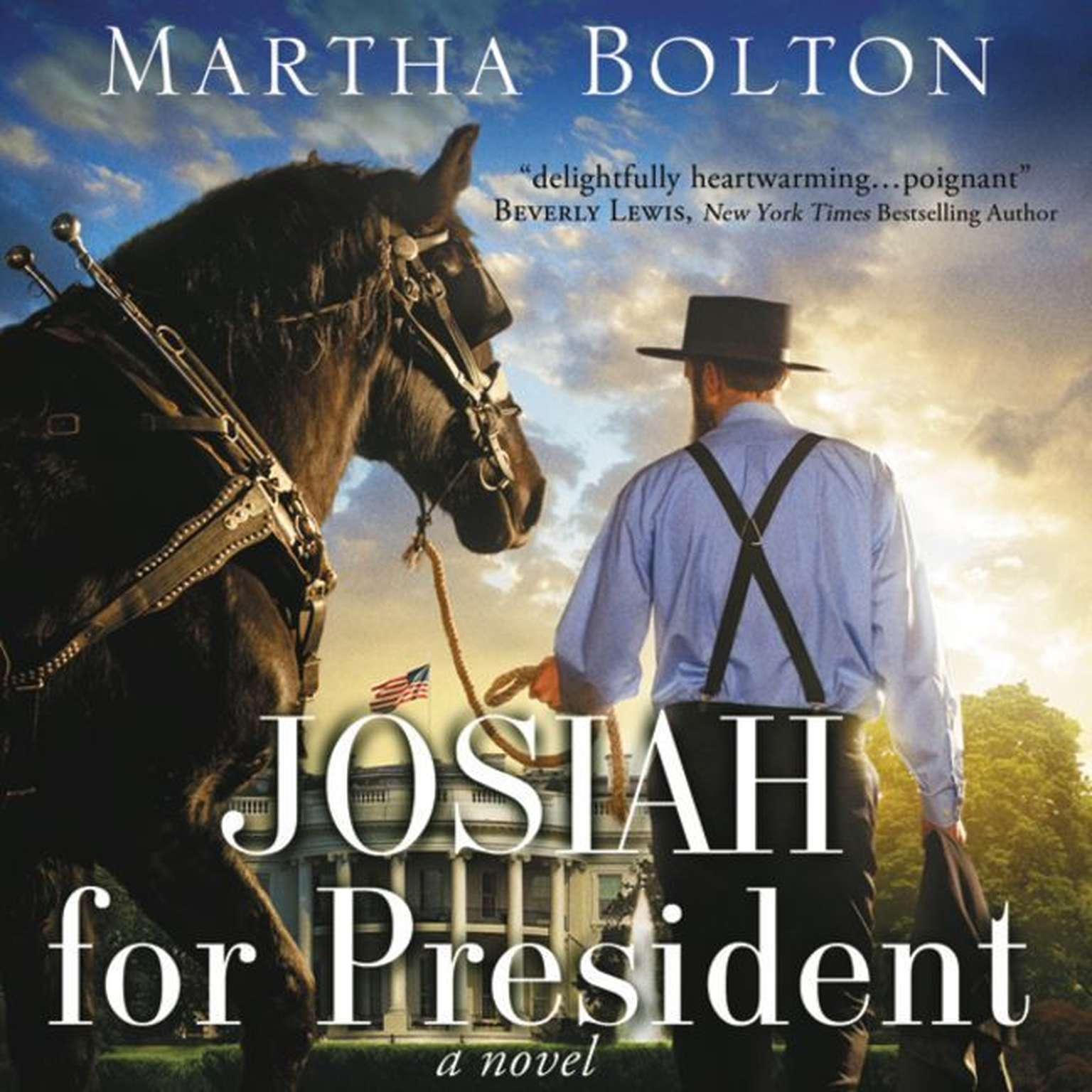 Printable Josiah for President: A Novel Audiobook Cover Art