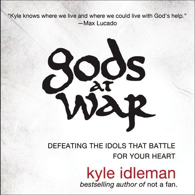 Printable Gods at War: Defeating the Idols that Battle for Your Heart Audiobook Cover Art