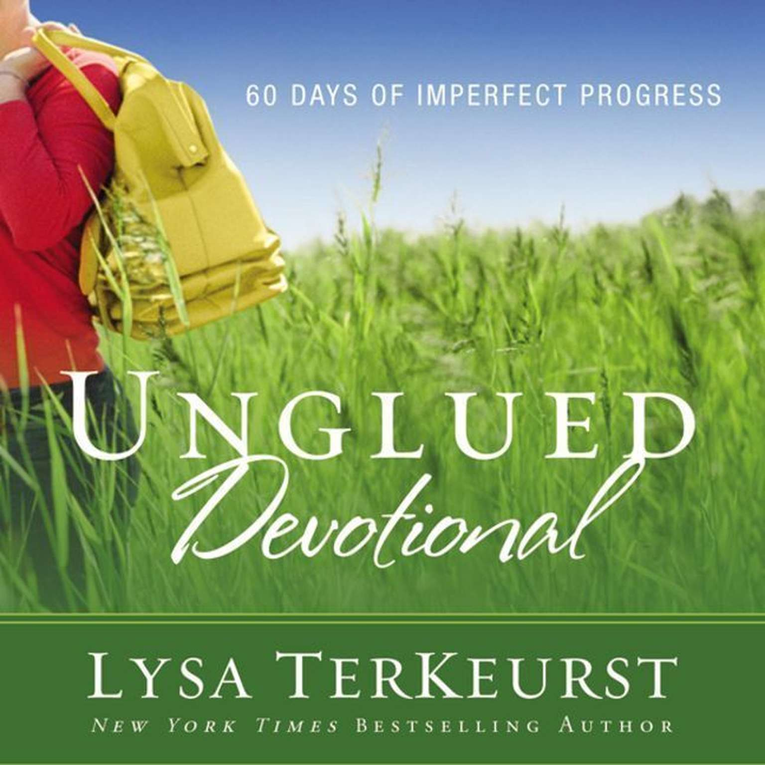 Printable Unglued Devotional: 60 Days of Imperfect Progress Audiobook Cover Art