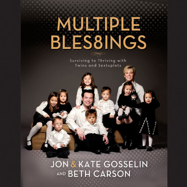 Printable Multiple Blessings: Surviving to Thriving with Twins and Sextuplets Audiobook Cover Art