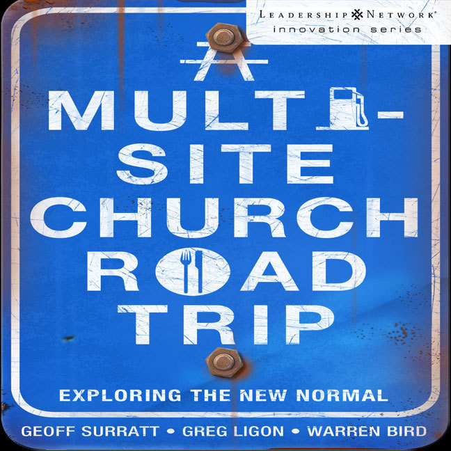 Printable A Multi-Site Church Roadtrip: Exploring the New Normal Audiobook Cover Art