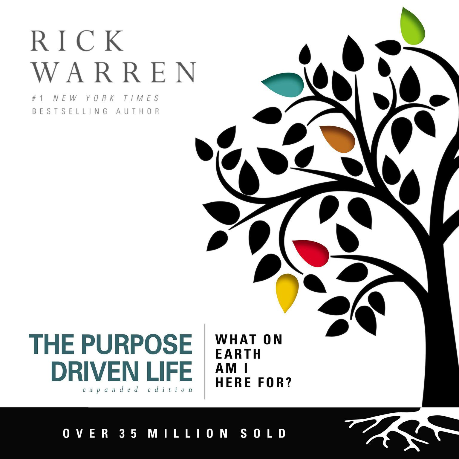 Printable The Purpose Driven Life: What on Earth Am I Here For? Audiobook Cover Art