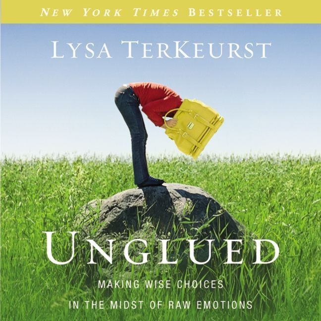Printable Unglued: Making Wise Choices in the Midst of Raw Emotions Audiobook Cover Art