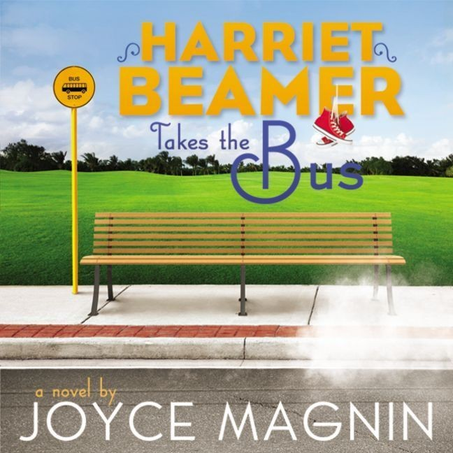 Printable Harriet Beamer Takes the Bus Audiobook Cover Art
