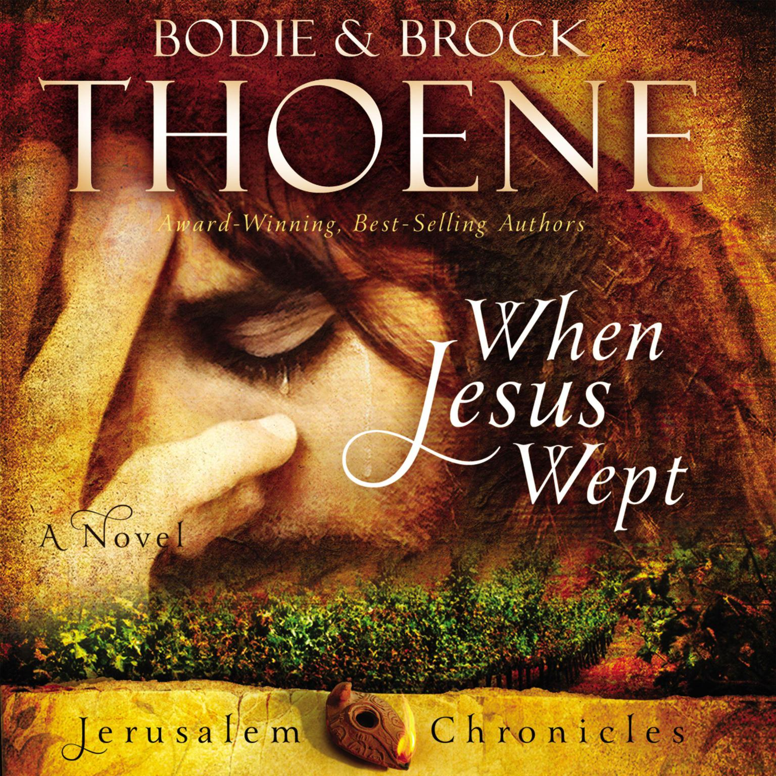 Printable When Jesus Wept Audiobook Cover Art