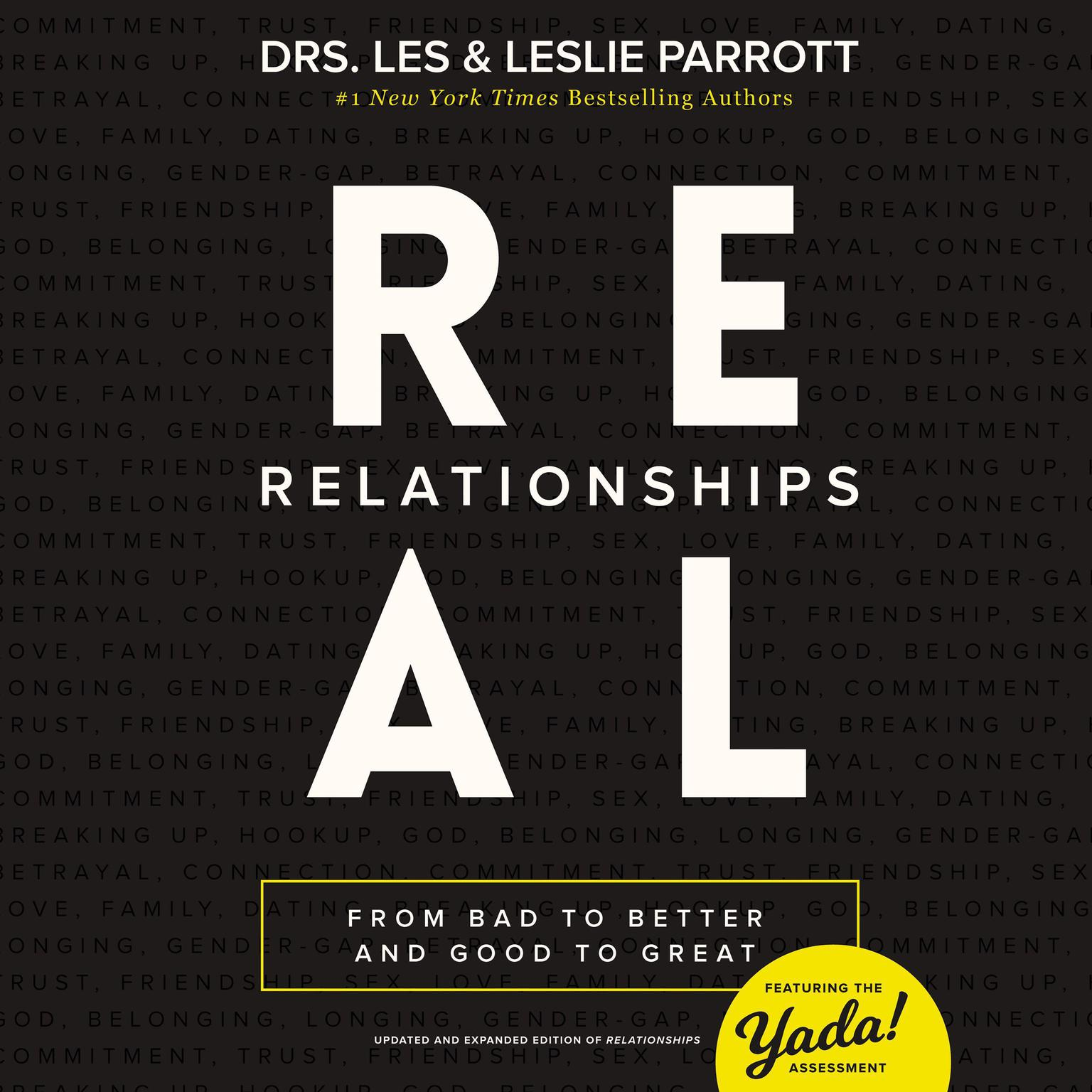 Printable Real Relationships: From Bad to Better and Good to Great Audiobook Cover Art