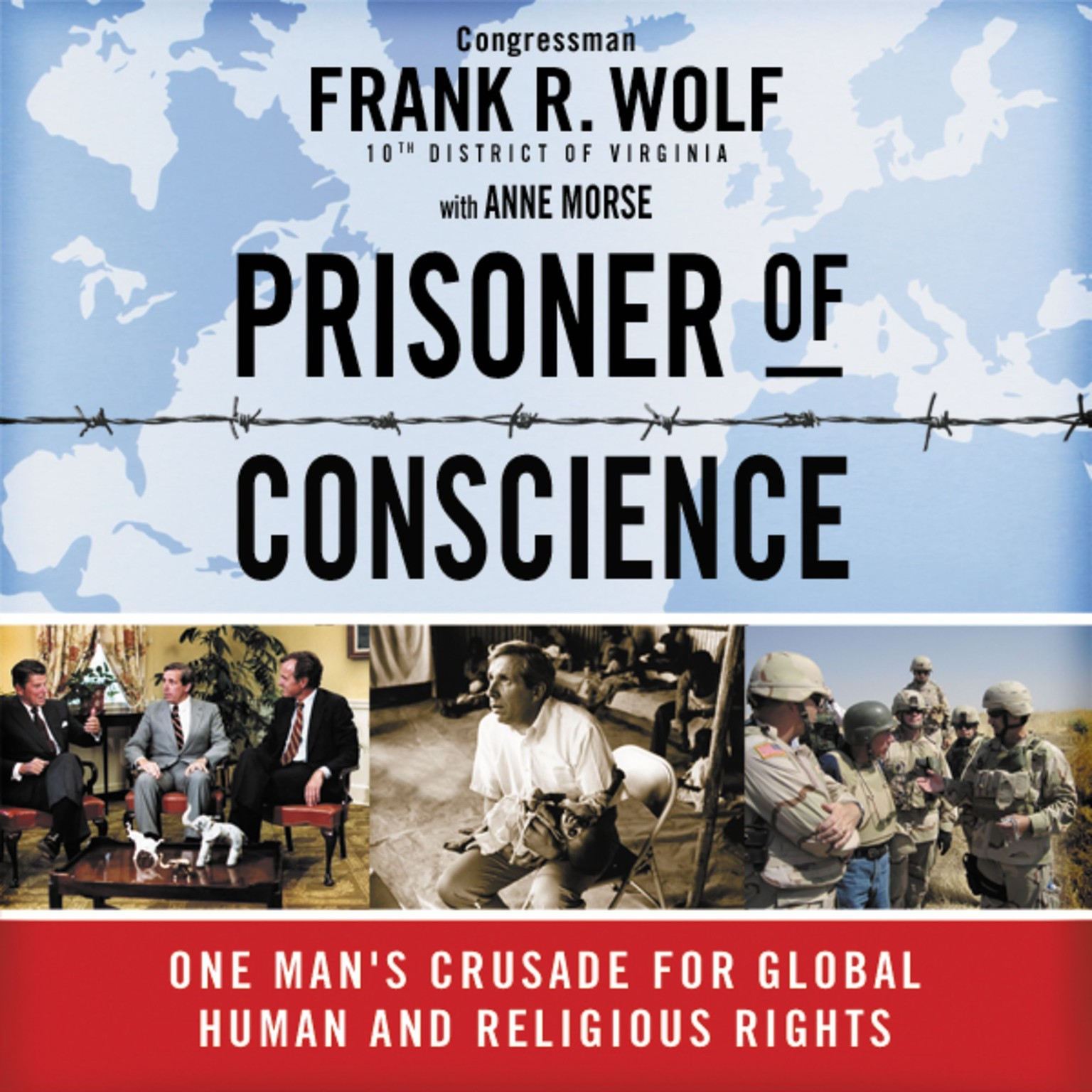 Printable Prisoner of Conscience: One Man's Crusade for Global Human and Religious Rights Audiobook Cover Art