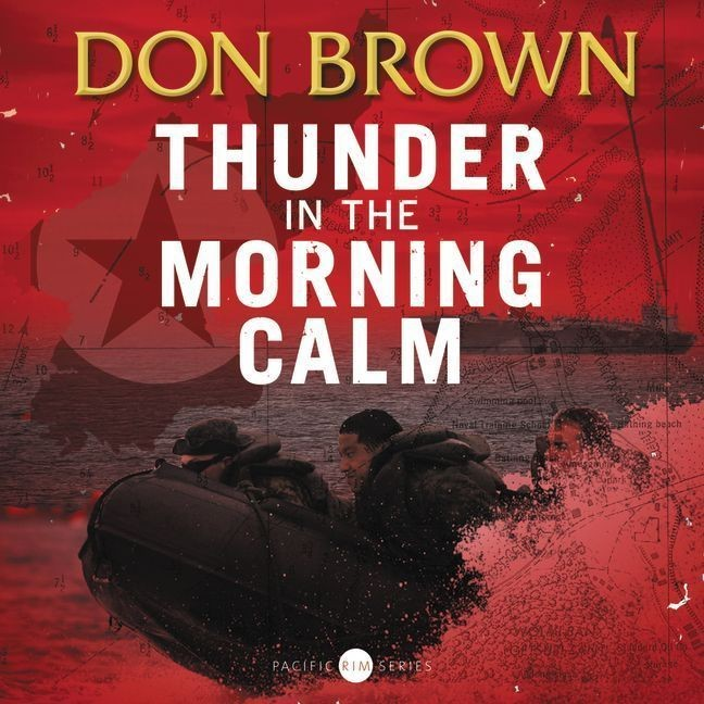 Printable Thunder in the Morning Calm Audiobook Cover Art