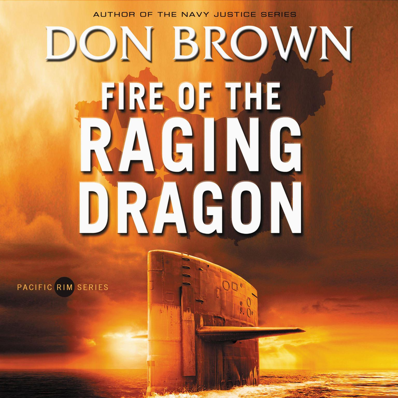 Printable Fire of the Raging Dragon Audiobook Cover Art