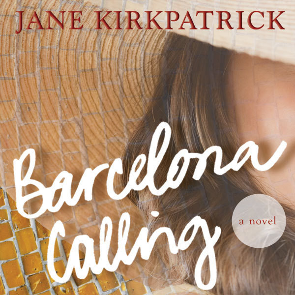 Printable Barcelona Calling: A Novel Audiobook Cover Art