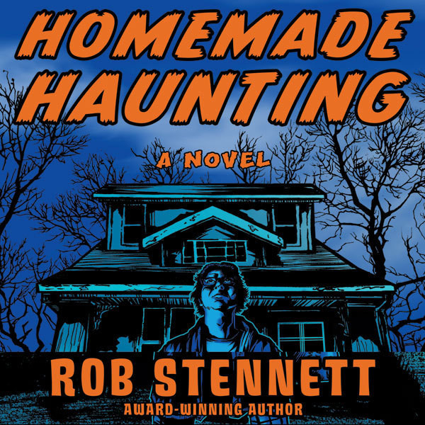 Printable Homemade Haunting: A Novel Audiobook Cover Art